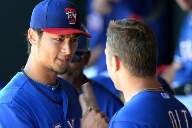 Moreland, Darvish Among Spring Stars as Rangers Wrap Camp