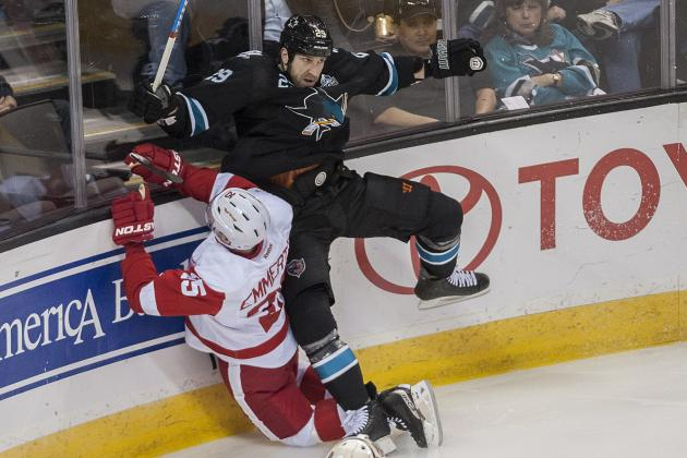 Red Wings-Sharks Preview