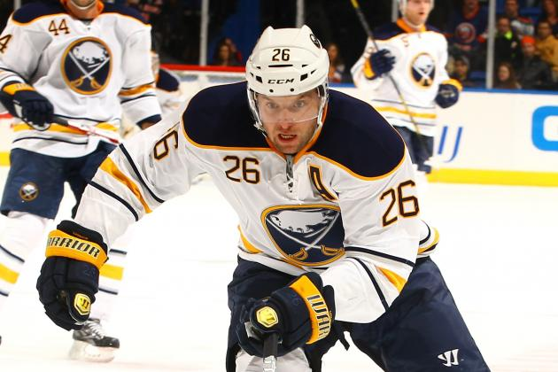 Vanek Not Ready to Return to Ice Yet