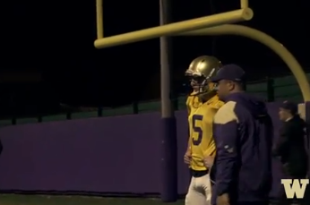 Video : Asst. Coach Johnny Nansen 'Mic'd Up' for Spring Practice