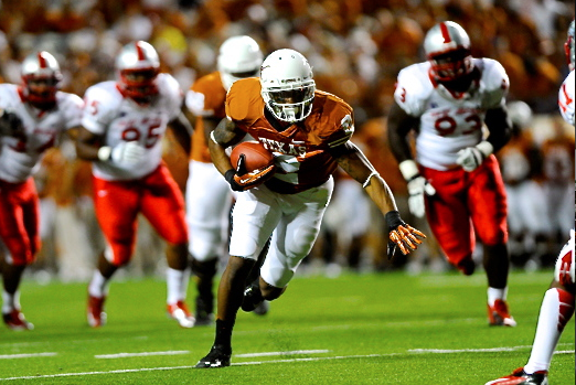 Texas Football: Why Kendall Sanders Will Become Texas No. 1 Option at WR