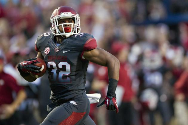 SEC Football Q&A: How Successful Will Arkansas' Running Game Be in 2013?