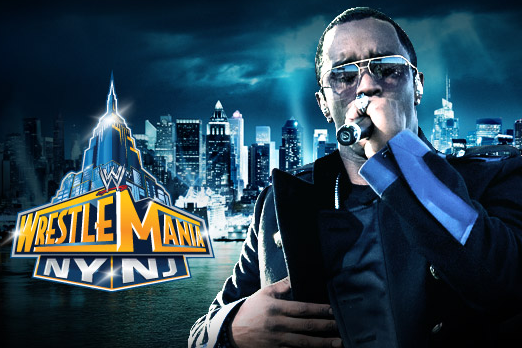 Sean 'Diddy' Combs to Perform at WrestleMania