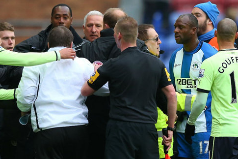 Graham Barrow and John Carver Punished by FA for Touchline Row at Wigan