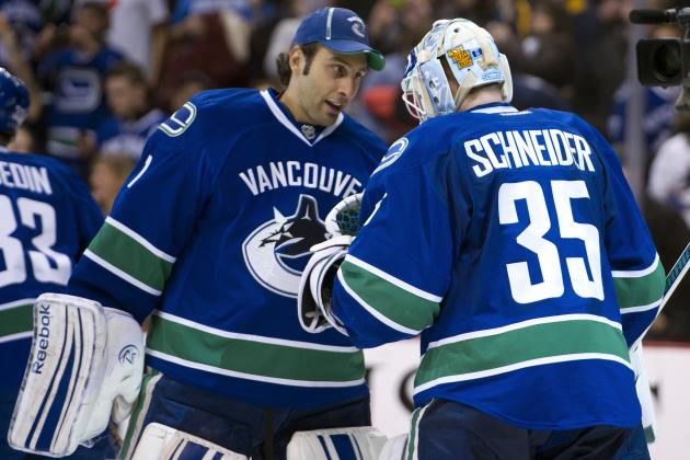 Luongo Ready for Any Trade Scenario, Praises Schneider