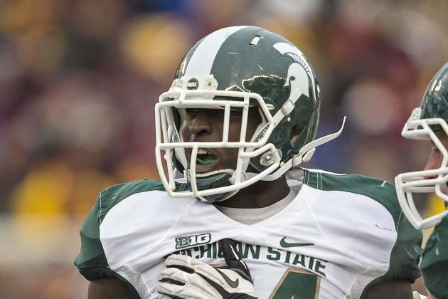 Michigan State Linebacker Taiwan Jones Upbeat After Knee Surgery