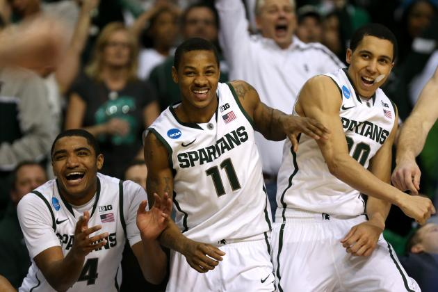 Michigan State's Keith Appling Says He's 99.5 Percent