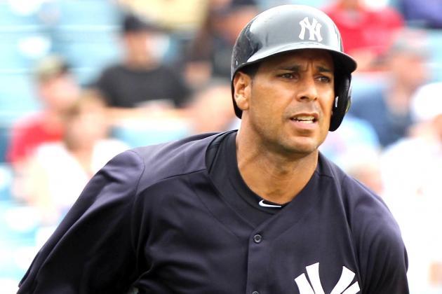 Yankees Release First Baseman Juan Rivera