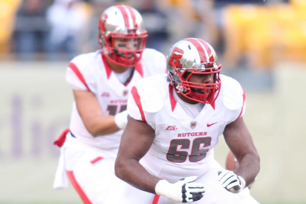 Rutgers OT Andre Civil Again Re-Positions Himself for Success