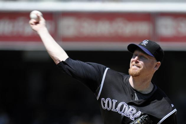 Aaron Cook Rejoins Rockies Via Minor-League Contract