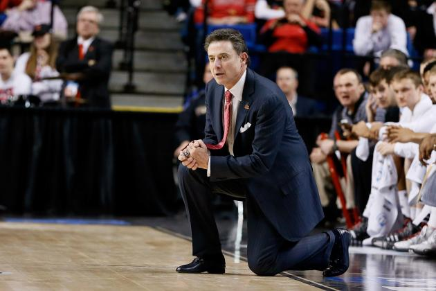 Louisville's Rick Pitino Gets Some Scouting Help from Travis Ford