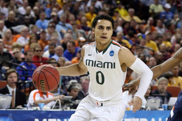 Shane Larkin: Being Barry Larkin's Son Huge Asset for Miami Star PG in March