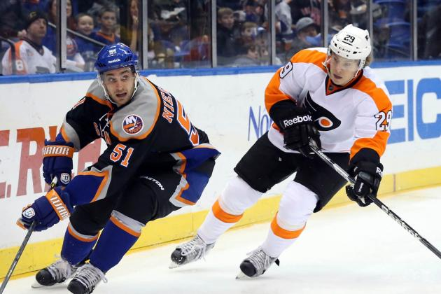 NHL Gamecast: Islanders vs. Flyers