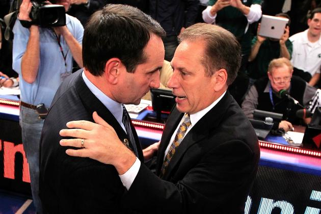 Who Would You Rather Have in the Sweet 16: Tom Izzo or Mike Krzyzewski?