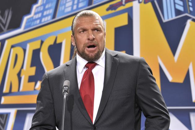 WWE: Triple H Is the Best Thing Going for the WWE Right Now