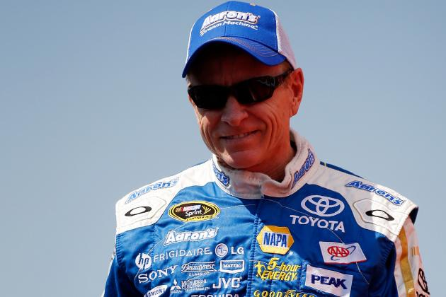 Mark Martin Will Replace Denny Hamlin
