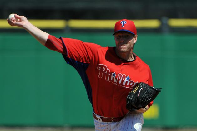Roy Halladay returns to mound for final tuneup as Phillies beat Blue Jays 7-2
