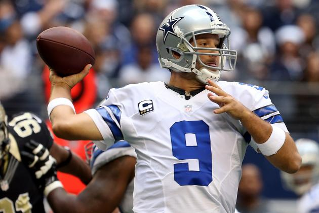 Tony Romo Cannot Be Franchised Tagged by Dallas Cowboys