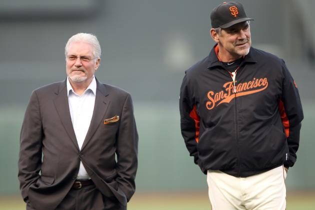 Giants Extend Contracts of Sabean, Bochy