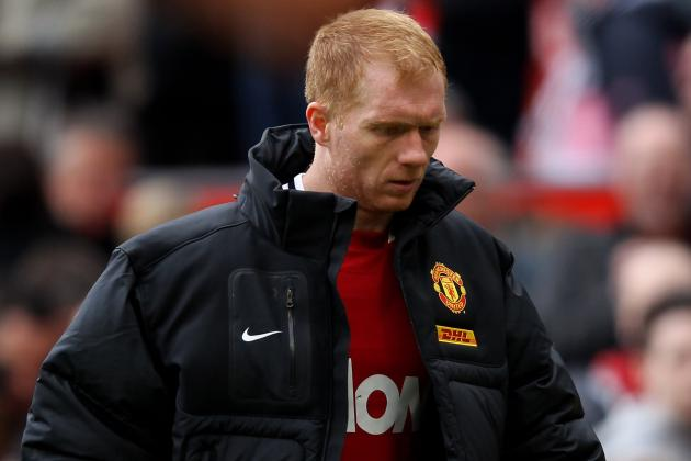 Manchester United's Paul Scholes Fit to Return Against Sunderland