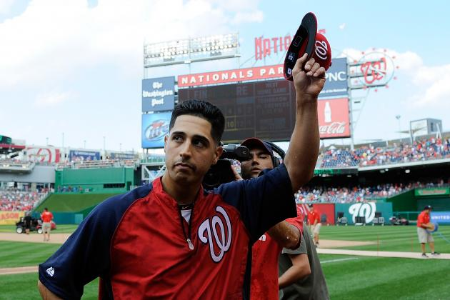 Washington Nationals Arrive in D.C. in Preparation for the New York Yankees