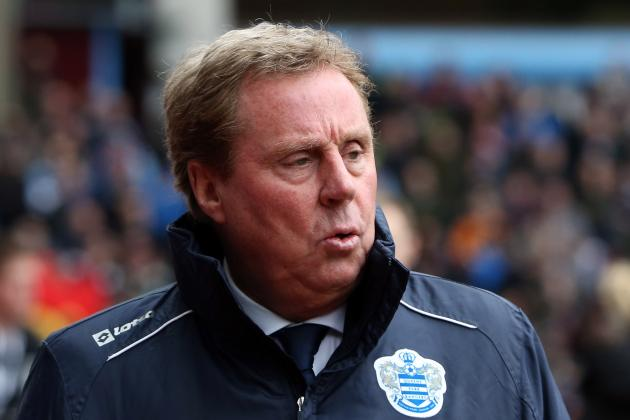 Redknapp: I Was 100 Per Cent Heading for Ukraine Before the QPR Job Came Up