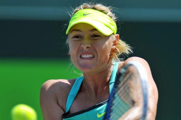 Sharapova Again Reaches Key Biscayne Final
