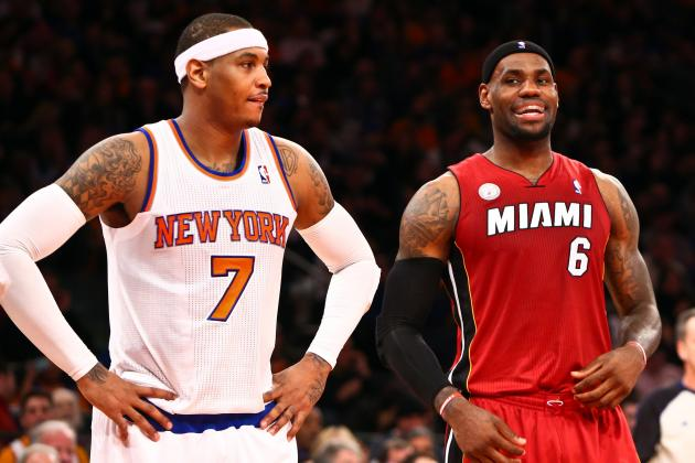 Melo Wanted to End Heat's Winning Streak