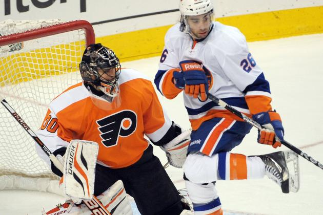 McDonald Scores Twice as Islanders Top Flyers