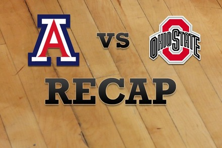 Arizona vs. Ohio State: Recap, Stats, and Box Score