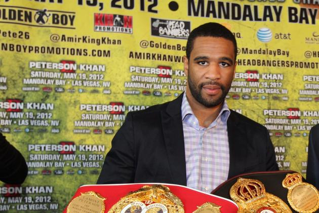 Golden Boy Says Lamont Peterson Tested Negative for Holt Fight