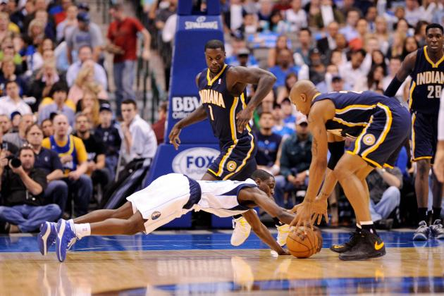 Pacers 103, Mavericks 78