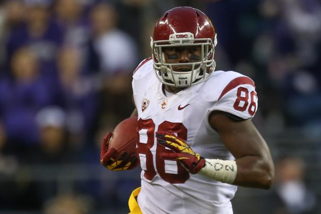 USC TE out for Remainder of Spring Fractured Chest