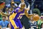 Kobe to See Doctor for Bone Spur in Left Foot