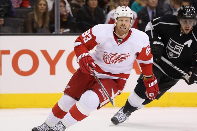 Johan Franzen out with Lower Body Injury