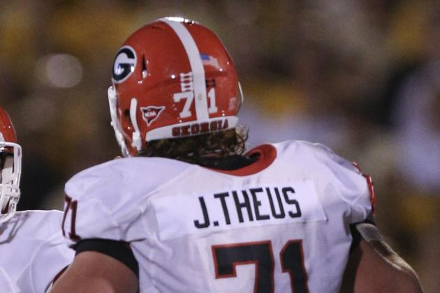 UGA Notes: Tackle John Theus Returns to the Field