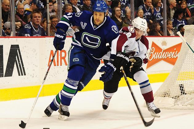 Canucks 4, Avalanche 1