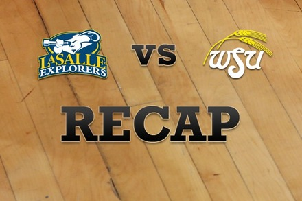 La Salle vs. Wichita State: Recap, Stats, and Box Score