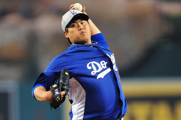 Dodgers' Hyun-Jin Ryu Sets Angels Down in Order in 3-0 Win