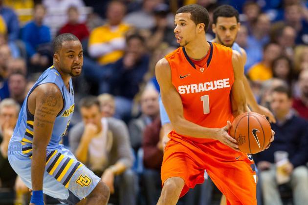 Marquette vs. Syracuse: Point Guard Battle Will Decide Elite 8 Clash