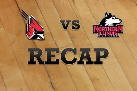 Ball State vs. Northern Illinois: Recap, Stats, and Box Score