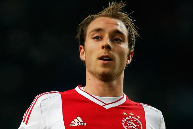 Transfer News: Ajax Midfielder Christian Eriksen Linked with Liverpool
