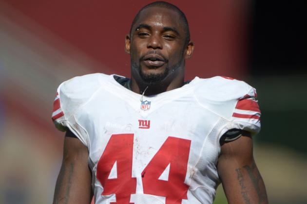 Former Giants RB Ahmad Bradshaw Leaves Without Contract