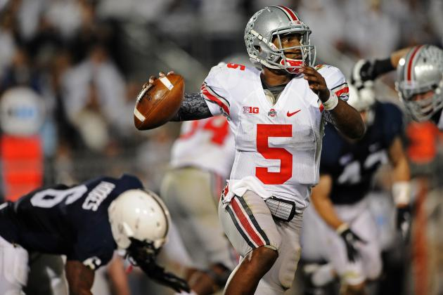 Ohio State's Passing Attack Showing Improvement Through Spring Practice