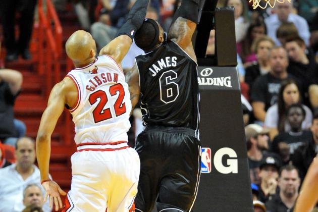 Bulls' Gibson: LeBron Too Good to Complain