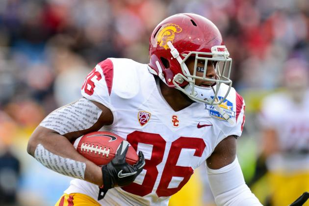 USC's Grimble to Miss Spring with Chest Injury