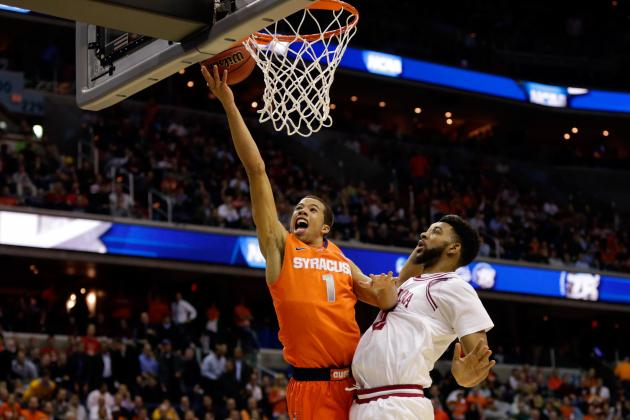 NCAA East Region: Syracuse Finds the Right Zone for Win over Indiana