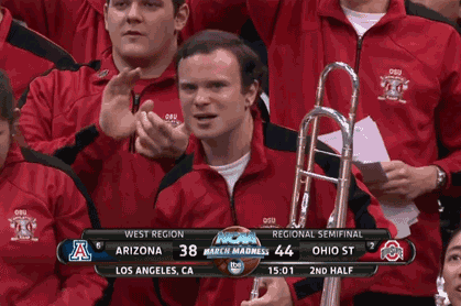 Ohio State Trombone Guy Was Really Enthused About Buckeyes' Comeback