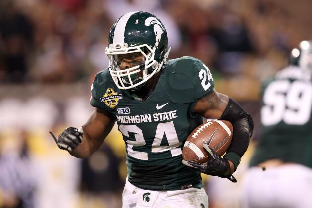 Dallas Cowboys Interested in Michigan State RB Le'Veon Bell