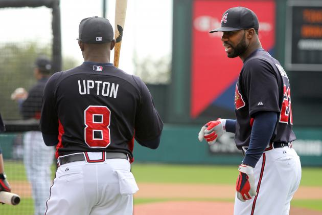 Braves' Projected Opening Day Lineup